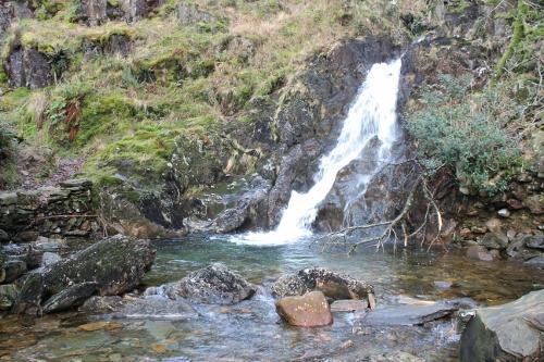 Dinas Emrys waterfall