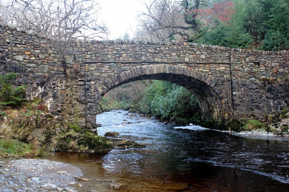 Coed Y Brenin bridge