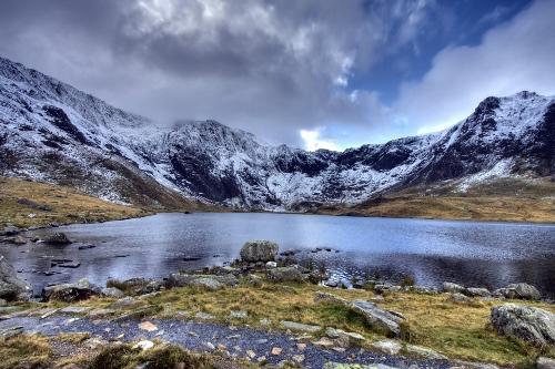 Llyn Idwal view