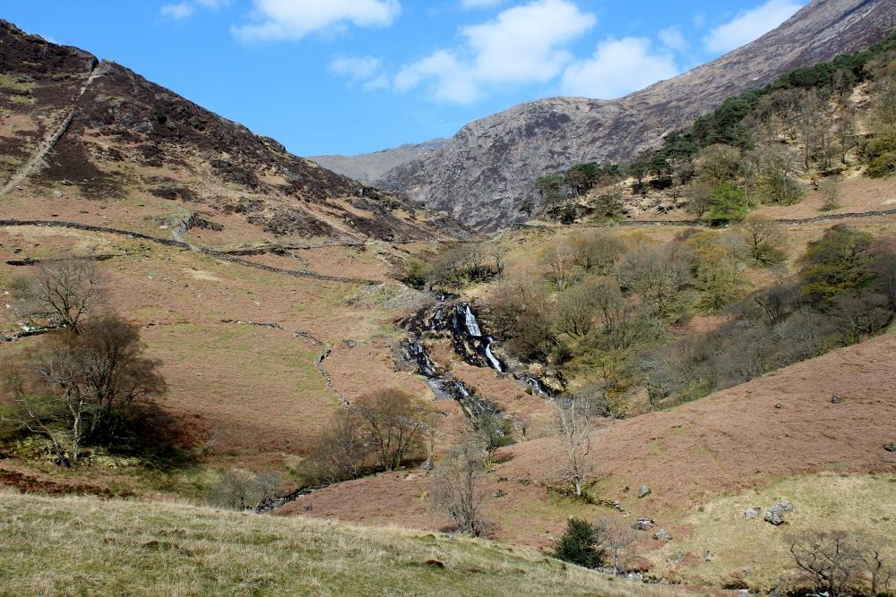 Cwm Llan Waterfalls