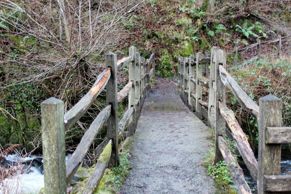 Bridge at Aber Falls