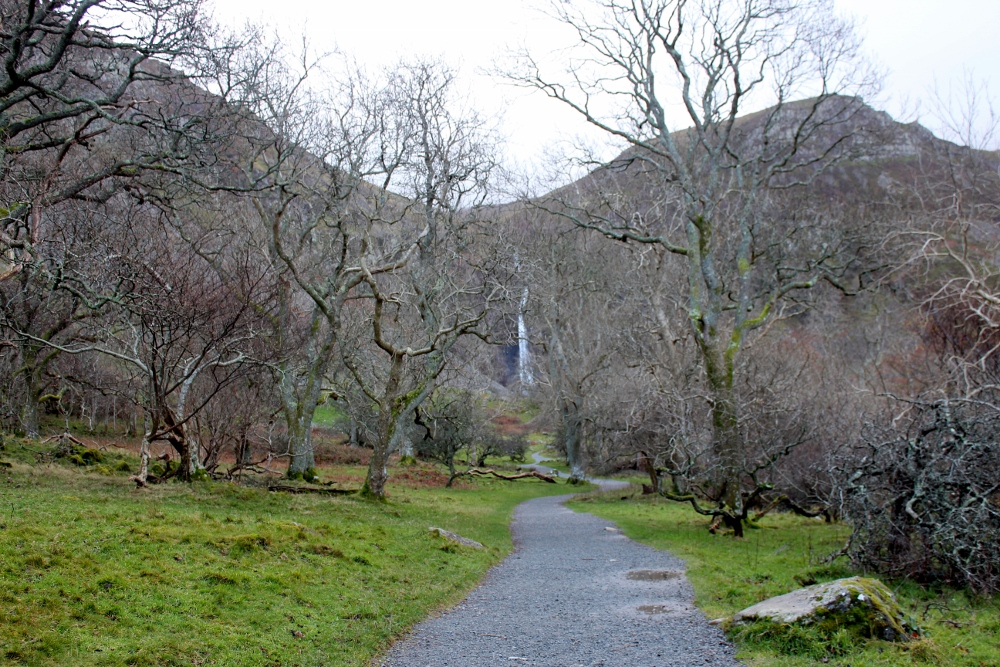 View of Aber Falls