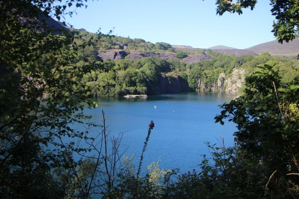 Quarry pit at Dorothea