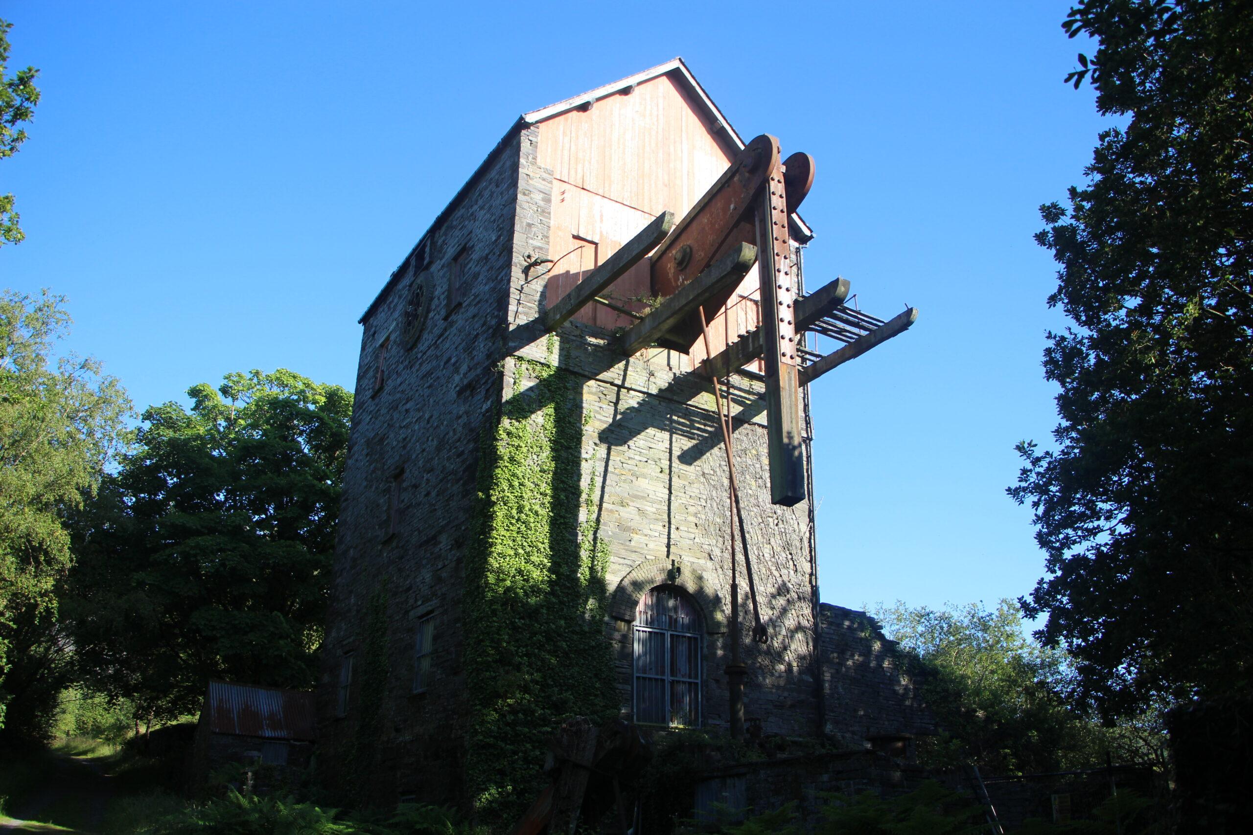 Engine house at Dorothea Quarry
