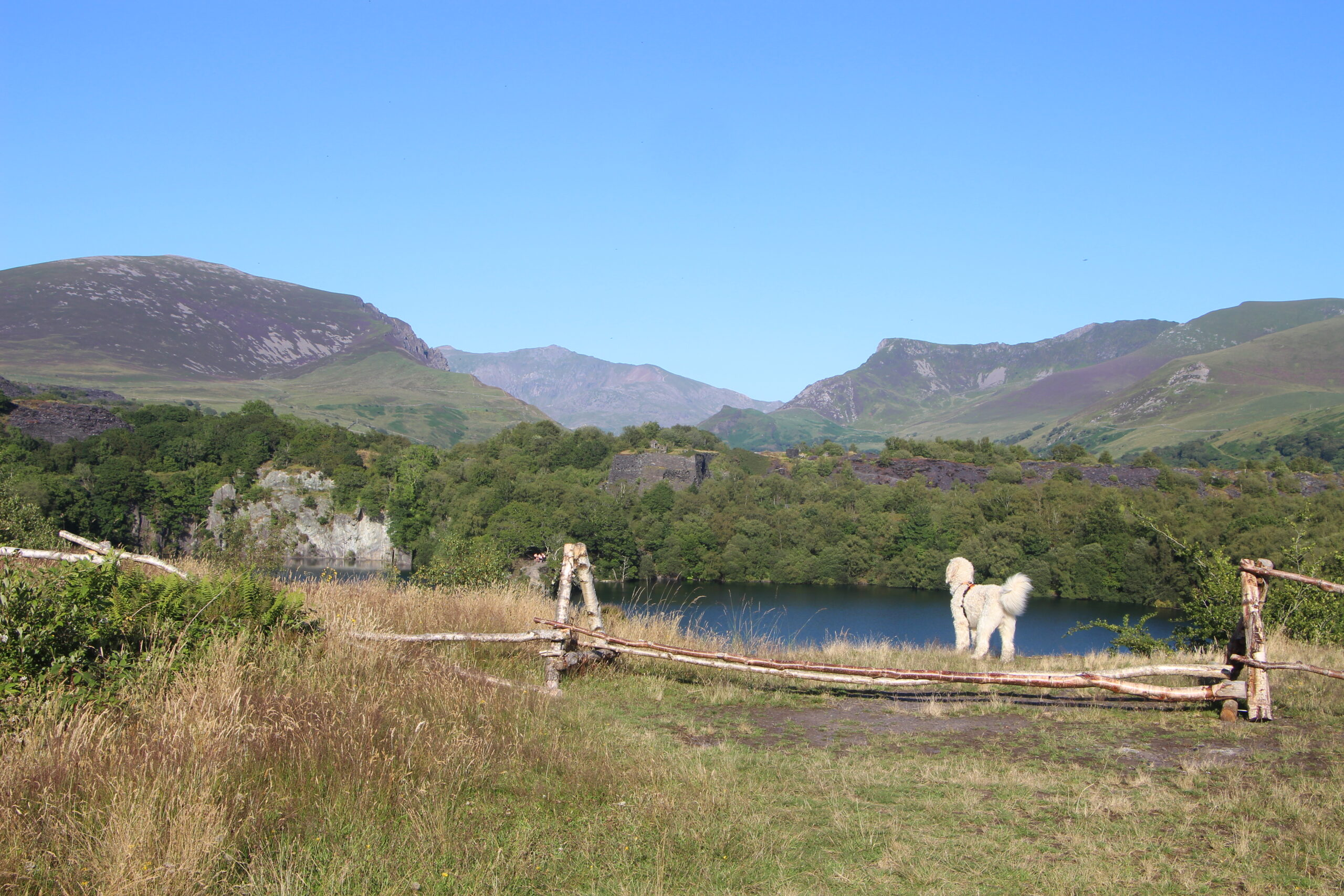 view of Dorothea quarry